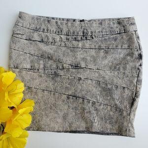 Blank NYC Bandage Denim Mini